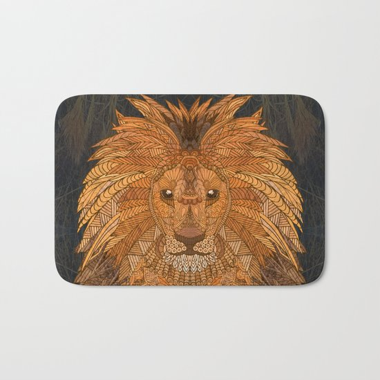 King Lion Bath Mat