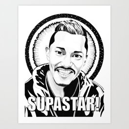 Supastar! Art Print