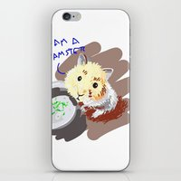 hamster iPhone & iPod Skins featuring Hamster by wingnang