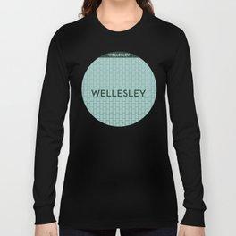 WELLESLEY | Subway Station Long Sleeve T-shirt
