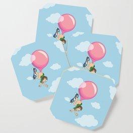 Don't Swallow Your Bubble Gum Coaster
