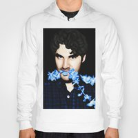darren criss Hoodies featuring Darren Criss by weepingwillow