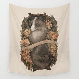 Friend Fox, Foe Fox Wall Tapestry