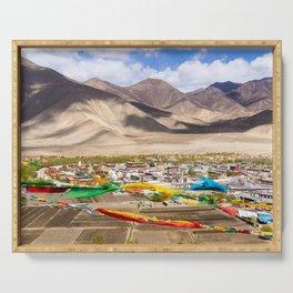 Tibet: Samye monastery & Himalaya Serving Tray