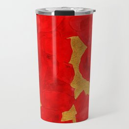 She liked to paint poppies Travel Mug