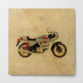 Ducati 500 SL Pantah 1980 Metal Print