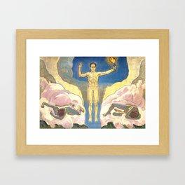 """Koloman (Kolo) Moser """"The Light"""" Framed Art Print"""