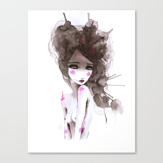 watercolor I Canvas Print