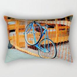 'Bout Fencing Rectangular Pillow