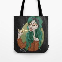 Pizza Sass Tote Bag