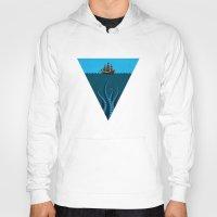 kraken Hoodies featuring Kraken by BS Designs