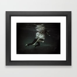 abyss of the disheartened : VII Framed Art Print