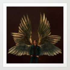 One Part Angel, One Part Danger Art Print