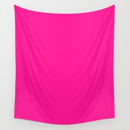 Deep Pink Wall Tapestry