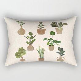Plants Collection Rectangular Pillow