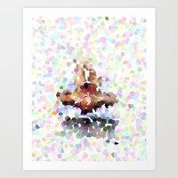 Sunbather Art Print