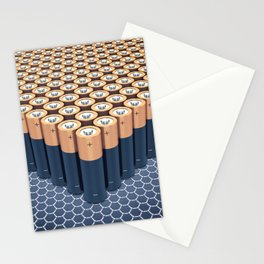 Batteries Stationery Cards
