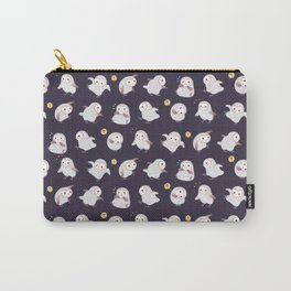 Baby Barn Owls - dark Carry-All Pouch