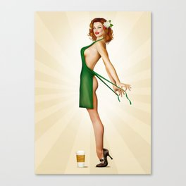 Double Tall Extra Hot Canvas Print