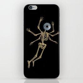 GEAR HEAD SKELETON iPhone Skin
