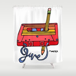Rewind Shower Curtain