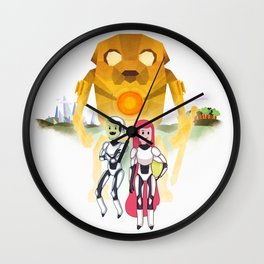 Pacific Time Wall Clock