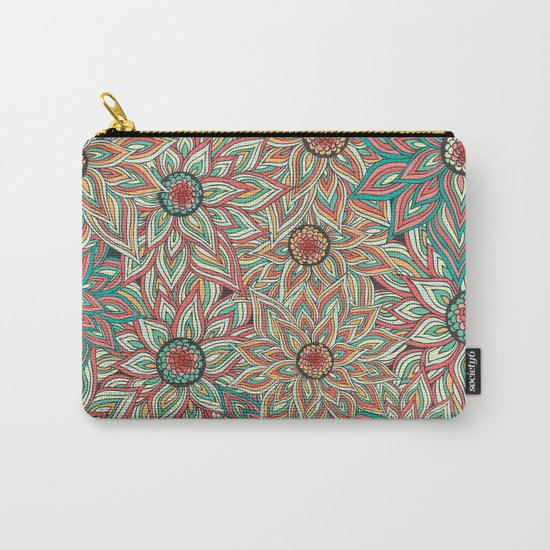 Floral Epoque Carry-All Pouch