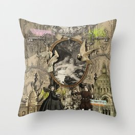 La NymPhe Throw Pillow