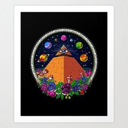 illuminati art prints | Society6
