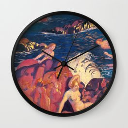 Wave - Digital Remastered Edition Wall Clock