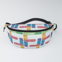 F for Fanny - Unique, personalised initial print. Fanny Pack