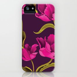 Pinow flower iPhone Case