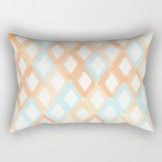 Soft Diamonds Rectangular Pillow