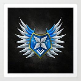 Prestige Emblem #2 Art Print