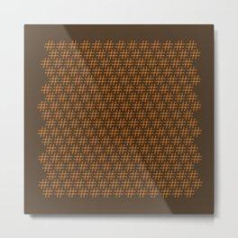 #Hashtag Pattern Metal Print