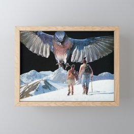 Bird Watching Framed Mini Art Print