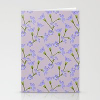 kansas Stationery Cards featuring Kansas Floral by Hannah Hughes
