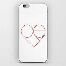 MODERN LOVE iPhone & iPod Skin