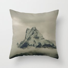 The Call of the Mountain 002 Throw Pillow