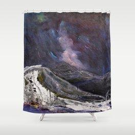 Northern Mountain Shower Curtain