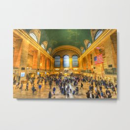 Grand Central Station New York Metal Print