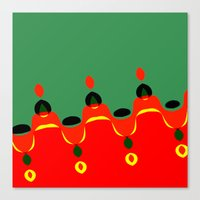 xmas Canvas Prints featuring xmas by Milenix Loerdi