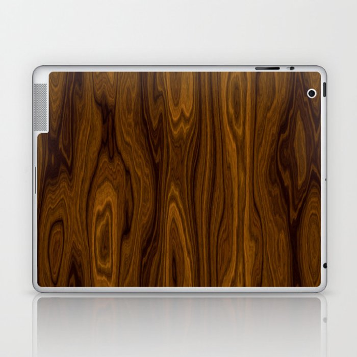 Wood Brown Laptop & iPad Skin