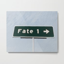 Fate Metal Print