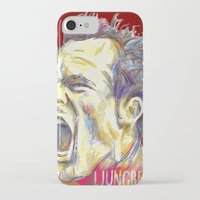 arsenal iPhone & iPod Cases featuring Ljungberg by ArsenalArtz