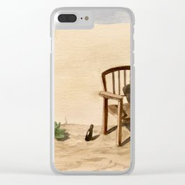 The Seascape in My Mind Clear iPhone Case