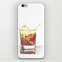 whiskey iPhone & iPod Skins featuring Whiskey by Giorgio Arcuri
