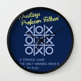 Strange game  Wall Clock