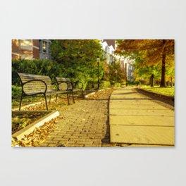 Autumn mood in Princeton Canvas Print