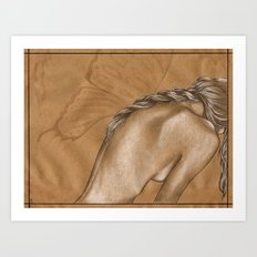 Wingless Art Print